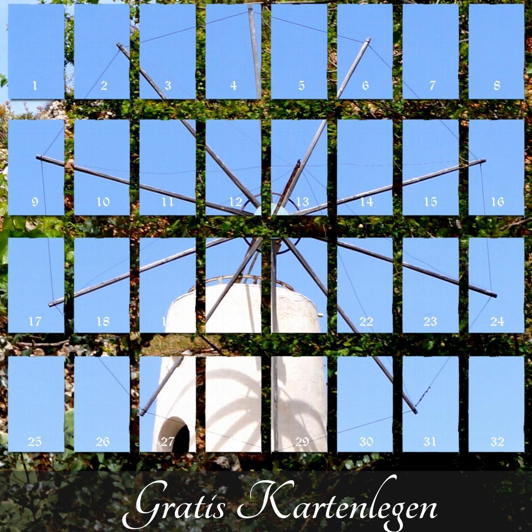Windmühlen Orakel Kartenlegen